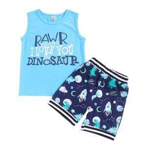 Conjunto camiseta+pantalón Wexuua bebés tallas de 12-18 meses y 18-24 meses. Otros modelos mismo precio.