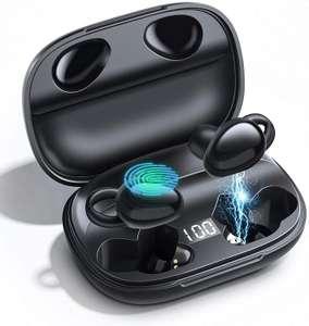 Auriculares Inalámbricos Bluetooth 5.0, Control Táctil, Graves Mejorados, Carga Rápida USB-C