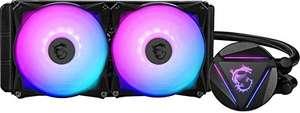 MSI MAG CORELIQUID 240R - Refrigeración Líquida AIO CPU, Radiador de 240, Bomba en el Radiador, 2 x 120 mm Ventiladores ARGB, ...
