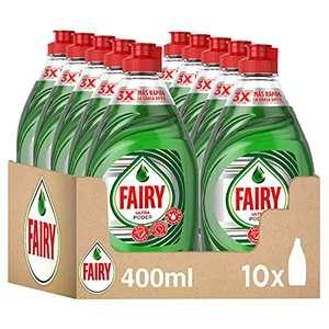 Fairy Ultra Lavavajillas Líquido a Mano con LiftAction, 4 L (10 x 400 ml)
