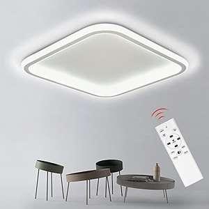 32W Lámpara de Techo Moderna con Mando a Distancia