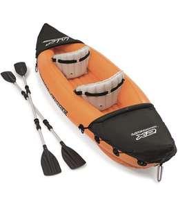 Bestway 65077 - Kayak Hinchable Hydro-Force Lite-Rapid 321x88 cm 2 Pers. con Remos