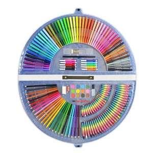Estuche abanico de colorear 153 piezas