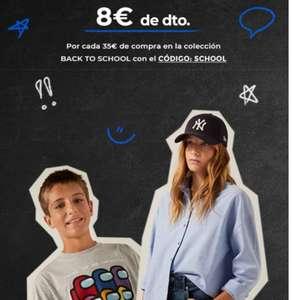 -8€ x compras de 35€ en Colección BACK TO SCHOOL