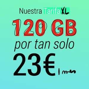 Prexfy: 25GB + Ilimitadas por 13€ / 120GB + ilimitadas por 23€