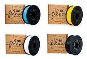 FILAMENTO FILEX3D PLA +PREMIUM 1KG 1,75 varios colores