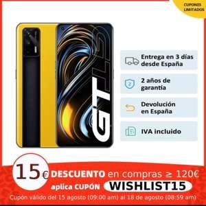 REALME GT 8+128GB Snapdragon 888, 5G,