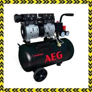 COMPRESOR AEG 24 litros SILENT