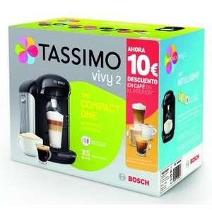 Cafetera Tassimo TAS1002V Con 10 € en vales gratis para comprar café