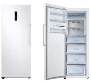 Congelador SAMSUNG independiente Vertical. Función WiFi con Smart Things (No Frost - 185.3 cm - 315 L )