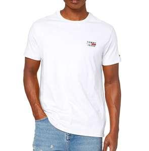 Camiseta algodón básica con logo Tommy Jeans adulto tallas XXL y S.