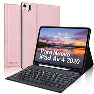 Teclado y funda para iPad Air 4 10.9 Pulgadas(2020)