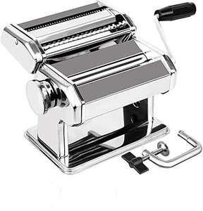 Máquina de Pasta de Acero Inoxidable 3 en 1 (8 Configuraciones de Grosor)