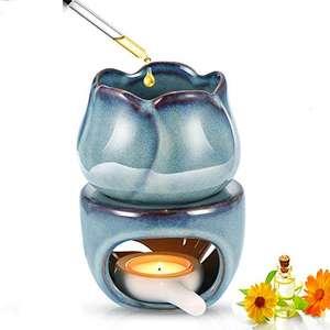quemador de aceite de cerámica esmaltada