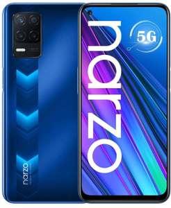 "Realme Narzo 30 5G Smartphone Dual SIM 4GB 128GB Dimensity 700 Pantalla FHD+ de 6,5"" a 90 Hz 5000mAh Cámara de 48 MP Versión Global"