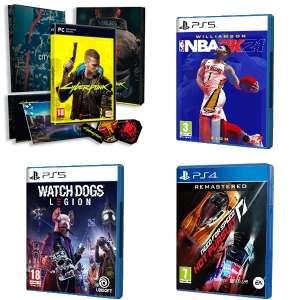 9.77€ c/u :: Cyberpunk 2077 | PS5 :: Watch Dogs Legion, NBA 2K21 y otros | AlCampo Motril