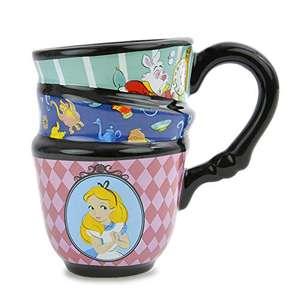 2 Tazas de diseño de Alicia en el País De Las Maravillas Disney (1 taza 3,99€)