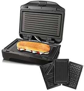 Taurus Miami Premium Sandwichera Intercambiable, 900 W