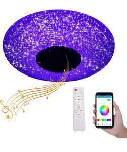 Plafón led RGB Con Appcontrol y Altavoz Bluetooth