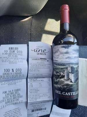 Vino Rioja DEL CASTILLO RED BLEND TINTO 75 CL +8'39€ de reembolso