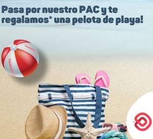 CC Baricentro: Balón de playa gratis hasta agotar existencias