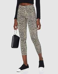 Pantalón skinny animal print 5 bolsillos Only mujer talla S. XS a 7,14€ y M a 7,28€