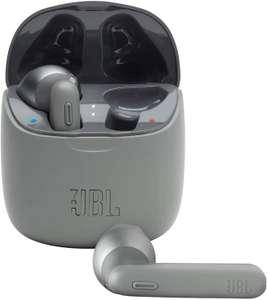 Auriculares inalámbricos - JBL Tune 225 TWS, True Wireless, Autonomía 25 h, Gris + Estuche carga inalámbrico (Tb MM)