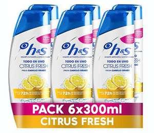 6 x 300 mL H&S Citrus Fresh