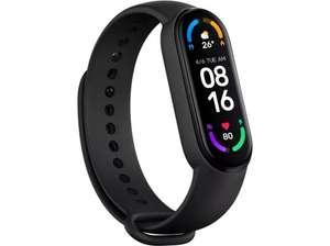"Pulsera de actividad - Xiaomi Mi Smart Band 6, 1.56"", AMOLED, Sensor cardíaco, 14 días, TPU, 5 ATM, Negro"
