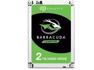 Disco duro - Seagate Barracuda, 2 TB, Desktop 3.5 in 6gb/s, SATA, 256 mb