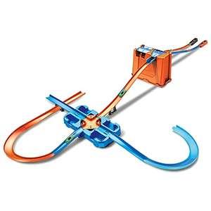 Hot Wheels - Track Buider Caja de Acrobacias Deluxe, Accesorios para Pistas de Coches de Juguete (Mattel GGP93)