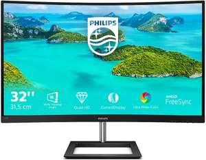 "Monitor Philips E-Line 32"" LED QHD Curvo"