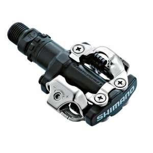 Pedales automáticos Shimano PD-M520 con calas SH51 para bicicletas MTB