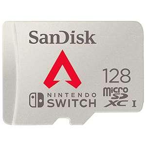 SanDisk microSDXC UHS-I Tarjeta para Nintendo Switch 128GB - Edición Apex Legends