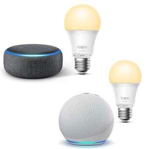 Echo Dot (3.ª + Bombilla, 4.ª + Bombilla Inteligente)