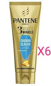 6 x 200ml (total 1.200ml) Pantene 3 Minute Miracle Cuidado Clásico