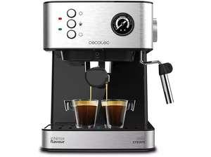 Cafetera express - Cecotec Power Espresso 20 Professionale, 20 bares, manómetro de presión