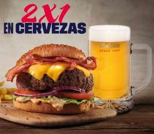 Foster´s Hollywood 2 X 1 En Cerveza Mahou de Barril