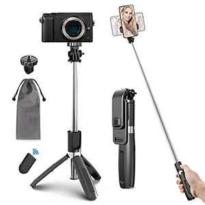 Palo Selfie + Trípode Bluetooth