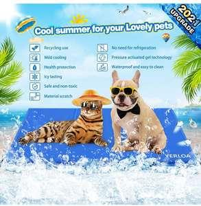 Alfombrilla de refrigeración automática para mascotas90x50 (96x81) descripción