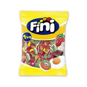 Fini Party Mix, Surtido Golosinas, Gominolas, Sandía, Plátano, Corazón Y Ladrillos Cuches, 1kg