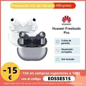 Versión global Huawei FreeBuds Pro Reducción activa de ruido Sonido ambiental Transmisión vocal transparente Conexión de dispositivo dual