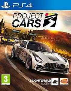 Project Cars 3 PS4 precio mínimo histórico en Amazon.