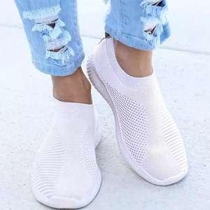 Zapatillas planas y transpirables (Muchas tallas y colores)