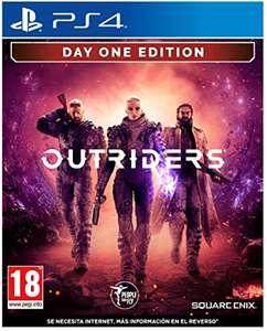 Outriders Day One Edition PS4 ESP casi al precio mínimo que fue 31.94€