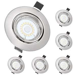 6 Piezas Foco Empotrable LED