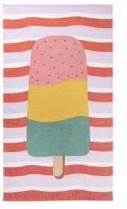 Toalla de playa con tacto velour Cream 90x160cm
