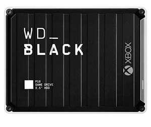 WD_BLACK P10 Game Drive para Xbox de 5TB y como nuevo solo 91€