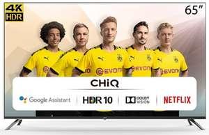 """Smart TV CHiQ U65H7A 65"""" LED UltraHD 4K HDR10"""