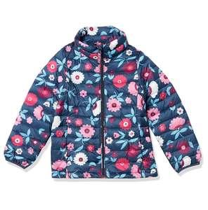 Chaqueta acolchada ligera Amazon Essentials niña talla 12-13 años. Talla 10 años a 14,74€.